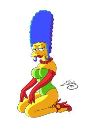Sexy Marge Simpson #2 by SWAVE18