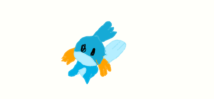 mudkip by tinythingsrcool
