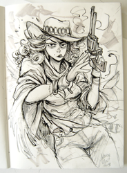 Cowgirl 01 by KarlaDiazC