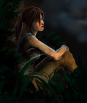 Tomb Raider Reborn - A Momentary Rest by xeeny