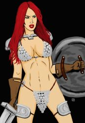 Red Sonja sandy 0002 by MIRAGE-5X5