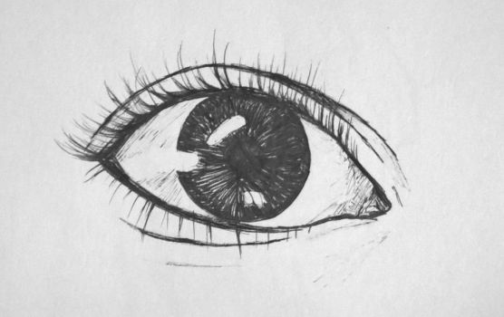 BFF Eye Sketch by crazy4christj