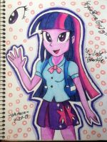 MLP Equestria Girls Twilight Sparkle by emichaca
