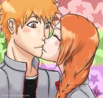 IchiHime Touch by Verano-Rin
