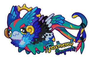 Halloween Pacalendar -  Feathered Serpent [Closed] by Nokkelborth