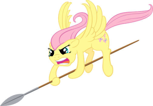 Fluttershy the Impaler by MoongazePonies