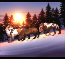 Hunting Party by JollyMutt