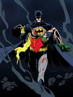 Batman: A Death in the Family (Colored) by edCOM02