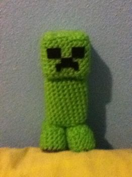THE CUTEST FRICKEN CREEPER EVER! by Kill-me-sensless