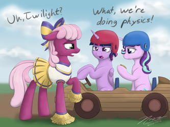 You Had Me at Physics by Novaintellus