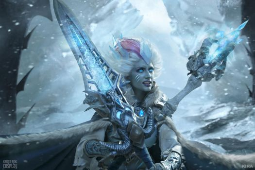 Frost Lich Jaina IX - New Queen by Narga-Lifestream