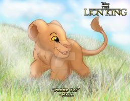 The Lion King - Little Nala by imaginativegenius099