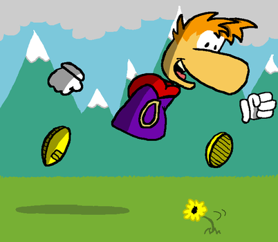 Rayman by Young-Freddy