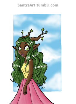 MFB - Cypress Character Design by Miss-Mae