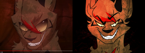 Bad Blood - Warrior Cats AMV redraw by morrysillusion