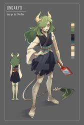 Selling old OC with additional art [sold] by Mioki-Kanta