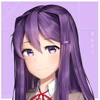 {DDLC} Yuri! by Sasoura