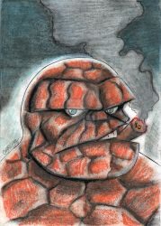 The Thing by marciocabreira