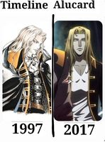 Castlevania Alucard Past and Future by 109Renae