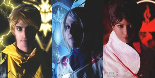 Pokemon TEAM - Instinct - Mystic - Valor by PriSuicun