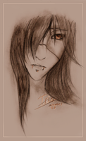 Iris realistic sketch by angelcurse0538