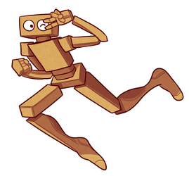 The Cardboard Defender! by Strontium-Chloride