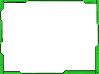 vahntreorr 2 0 simple futuristic border design ver2 green by vahntreorr