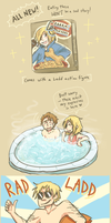 Baccano: Being Punny by BearWithGlasses