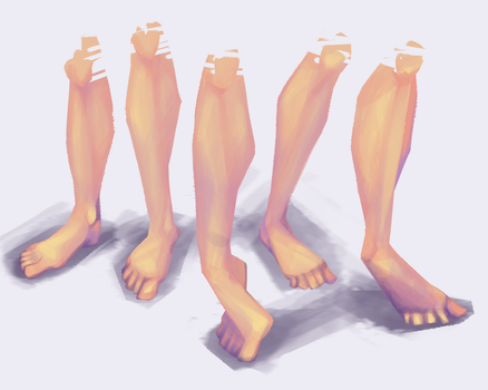 legs 1 by BuduFamousPosleDeath