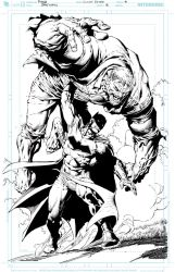 David Finch / Jimmy Reyes Batman2 pg4 High Res by JimmyReyes