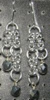Chainmaille Earring 53 by Des804