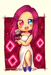Commission | Meisha chibi by AngelLinx3