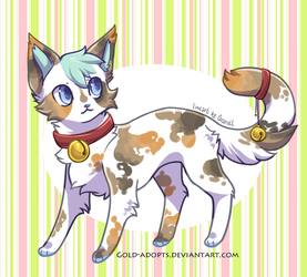 CLOSED | Calico Cat Auction by gold-adopts