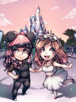 Disneyworld commish by Parororo