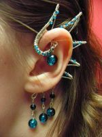Dragon Wing Ear Cuff by ShirNek0