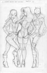 Commission DC Girls rough by rantz