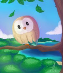 Rowlet by lumepone