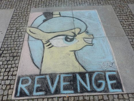 Chalk picture copy of Luna (original by Fr3zo ) by Easterforest92