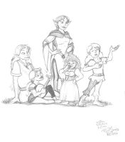 Elves and Halflings by Gorpo