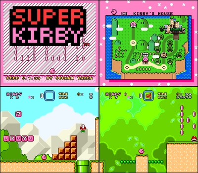 [SMW Hacks] Super Kirby Demo Ver 1.00 Download by cuddlesnam