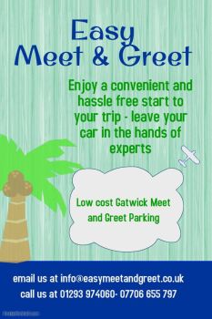meet and greet gatwick deals on wheels