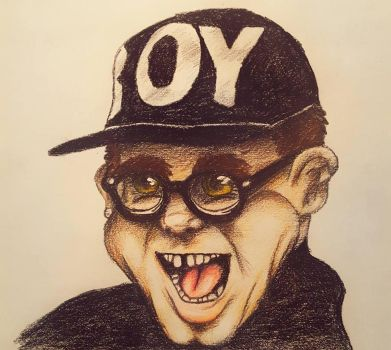 Adorable Caricature 1990 Elton John by RetroReginald