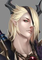 TERA Online Castanic by ChevalierCircle
