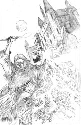 GFT #21 variant cover pencils by NethoDiaz