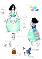 Easter Dress Design by SunVenice