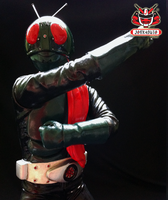 1/6 Kamen Rider No.1 Classic Vinyl Kit Painted 06 by wongjoe82