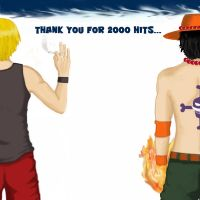 Sanji and Ace's thank you... by pulcino
