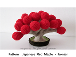 pattern Japanese Red Maple - bonsai by cottonflake