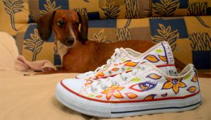 Sneakers LOVE by Ainon