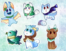 Winter Petit pets (CLOSED by adoptchick
